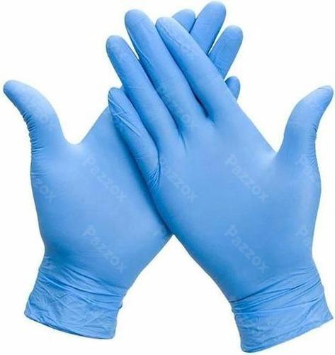 Handschoenen Small Nitril Ongepoederd Blauw 100 Stuks