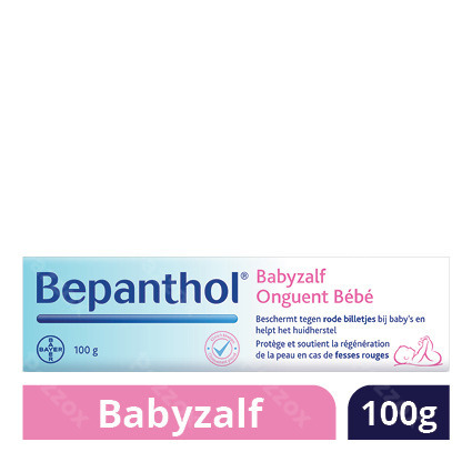 Bepanthol Babyzalf - Rode Billetjes En Tepelkloven 100g