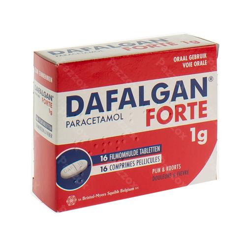 Dafalgan Forte 1g 16 Tabletten
