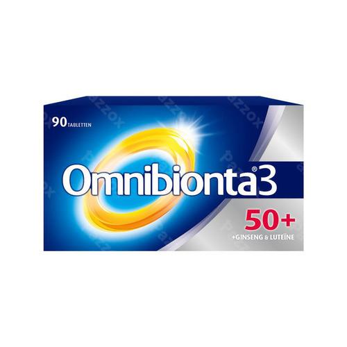 Omnibionta-3 Voedingssupplement Voor 50+'ers 90 Tabletten