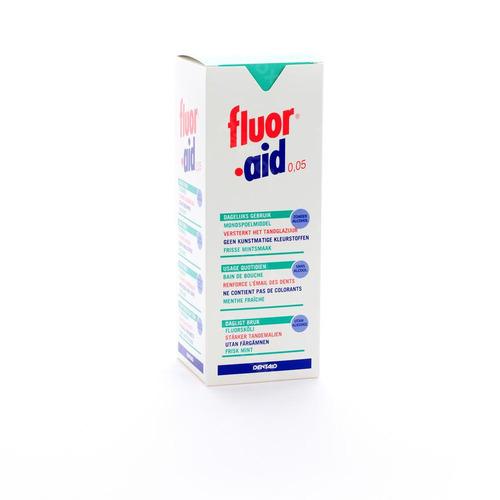 Dentaid Fluor Aid 0.05% Mondspoelmiddel 500ml