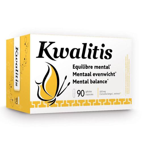 Kwalitis Gel Voedingssupplement Mentaal Evenwicht 90 Capsules
