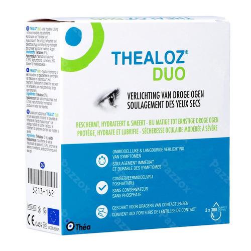 Thealoz Duo Gutt Oculaires Tripack 3x10ml