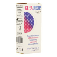 Keradrop Sol Ophtalm. Fl 5ml