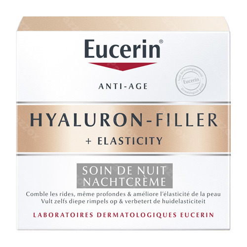 Eucerin Hyaluron Filler + Elasticity Anti-age Nachtcrème 50ml