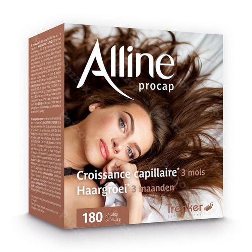 Trenker Alline Procap Voedingssupplement Haargroei 180 Capsules