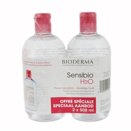 Bioderma Sensibio H20 2x500ml Promo