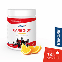 Etixx Carbo-gy Sinaasappel 1000g
