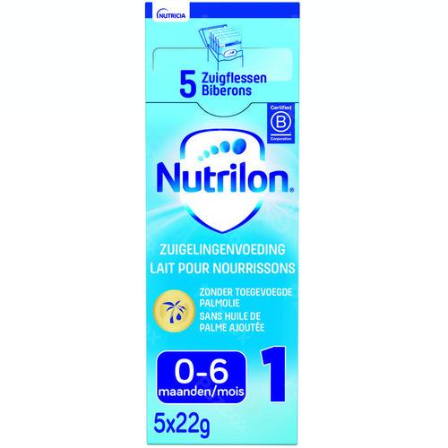 Nutrilon 1 Zuigelingenmelk Baby 0-6 Maanden Poeder 5x23g