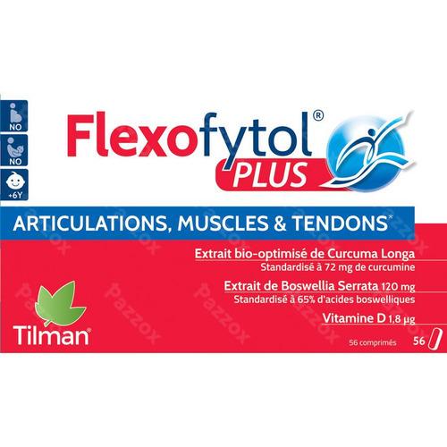 Flexofytol Plus Complément Alimentaire Muscles et Articulations 56 Comprimés