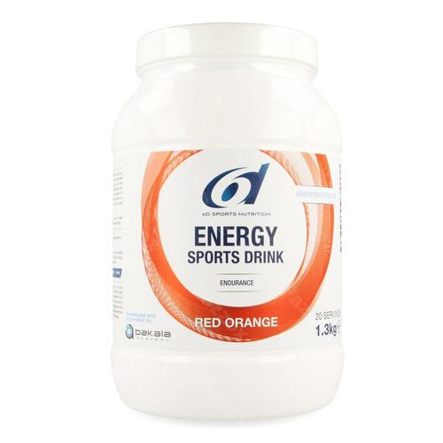 6d Sixd Energy Sports Drink Red Orange Pdr 1,3kg