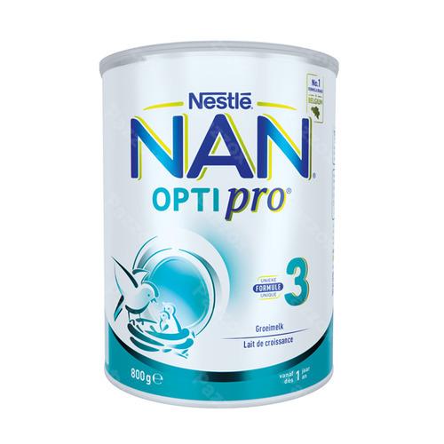 Nestlé Nan Optipro 3 Groeimelk / Melkpoeder Kind Vanaf 1 Jaar 800g