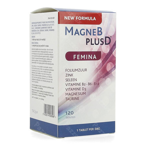 Magne B Plus D Femina 120 Tabletten