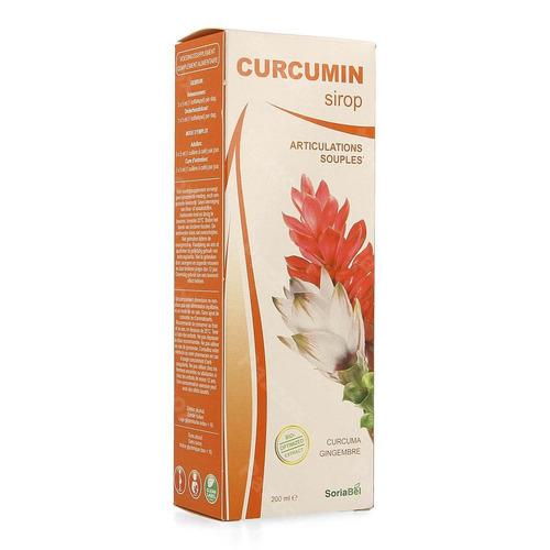 Soria Curcumin Sirop 200ml Nf