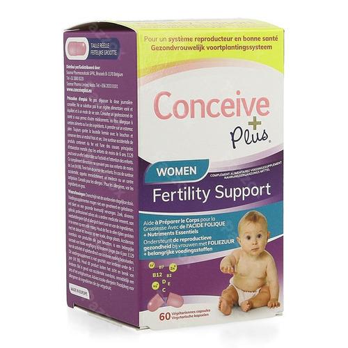 Sasmar Conceive Plus Women Fertil. Support Caps 60