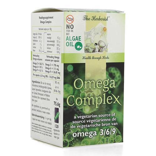 Herborist Omega Complex Algae Oil Vegetarisch 120 capsules
