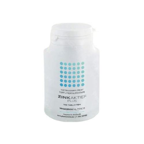Zink Actief Plus Comp 100 Pharmanutrics